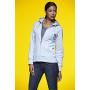 Ladies' Hooded Jacket heather-grijs