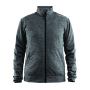 Leisure Jacket Men dk grey mel. xl