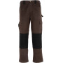 Grafter duo tone 290 trousers brown / black 50 nl (36 uk)