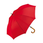 Automatic Regular Umbrella Ø 105 cm Red