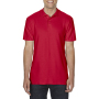 Gildan Polo Double Pique Softstyle for him red 3XL