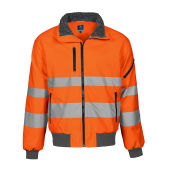 6430 pilot jacket HV CL3 Orange 4XL