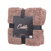 Norländer Cuddle Blanket Dark Brown