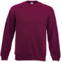 Classic set-in sweat (62-202-0) burgundy m