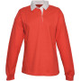 Damesrugbypolo red m