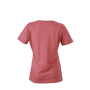 Ladies' Heather T-Shirt rood-melange
