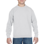 Gildan Sweater Crewneck HeavyBlend for kids white L