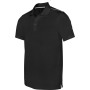 Herensportpolo black xxl