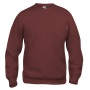 Basic roundneck bordeaux m
