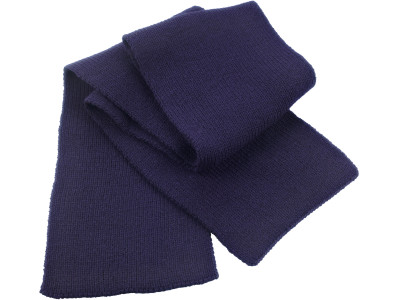 Classic heavy knit scarf
