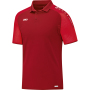 Polo Champ XXL donkerrood/rood