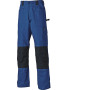 Grafter duo tone 290 trousers royal blue / black 50 nl (36 uk)
