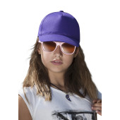 Kids' cotton cap - 5 panels
