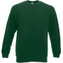 Classic set-in sweat (62-202-0) bottle green xl