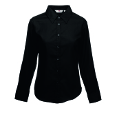 Lady-Fit longsleeve Oxford Shirt