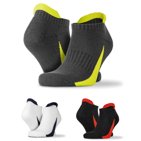 3-Pack Mixed Sports Sneaker Socks
