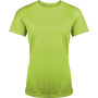 Functioneel damessportshirt lime xs