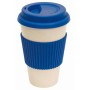 Bamboe koffiebeker GEO CUP - blauw