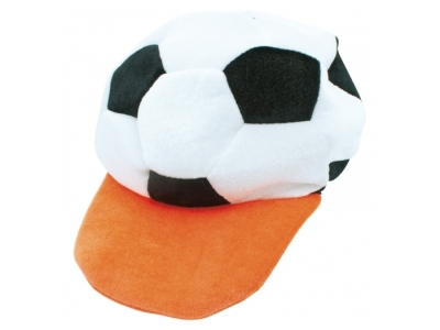 Voetbal fleece cap