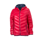 Ladies' Down Jacket rood/navy