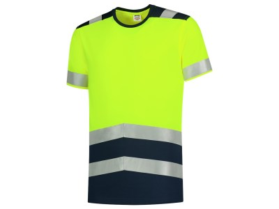 T-Shirt High Vis Bicolor