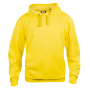 Basic hoody lemon xs