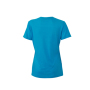 Ladies' Heather T-Shirt turquoise-melange