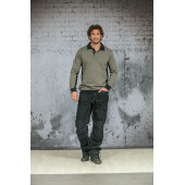 L&S Sweater Polo Workwear
