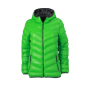 Ladies' Down Jacket groen/carbon