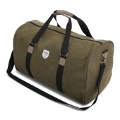 Vintage Canvas Weekendbag Green
