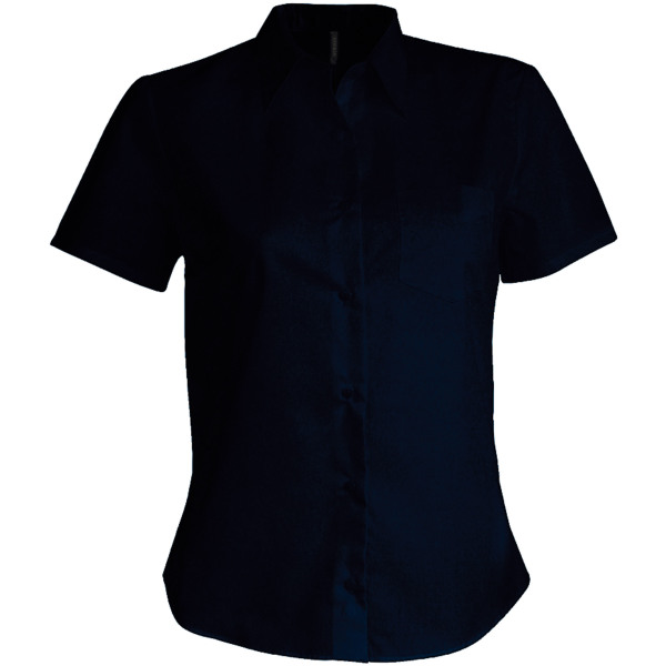Judith - ladies' short sleeve easy care polycotton poplin shirt