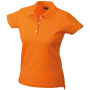 Ladies' Elastic Piqué Polo oranje