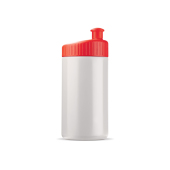 Sportbidon design 500ml wit / rood