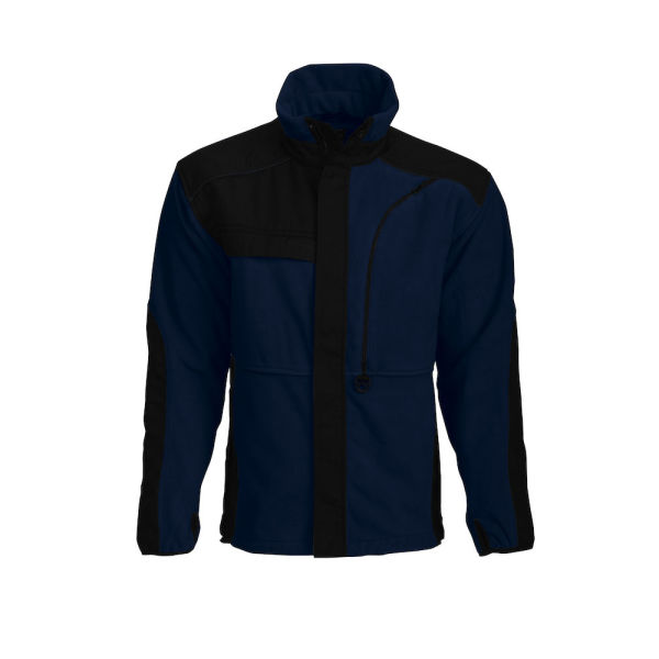 FLEECE JACKET ADVANCED BLACK XXXL
