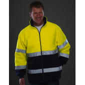 Hi-Vis 2-Tone Fleece Jacket
