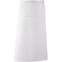 'colours' bar apron white one size