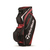 Taylormade San Clemente Cart Bag Black Red White