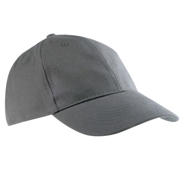Brushed twill cap - 6 panels