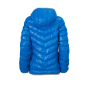 Ladies' Down Jacket blauw/zilver