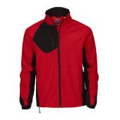 2422 softshelljacket men red XXL