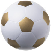 Football anti-stress bal - Wit,Goud