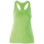 Dames racerback lime s