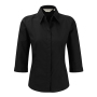 3/4 SL Poplin Black 2XL