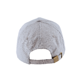 Cap 5 panel brushed met buckle sluiting