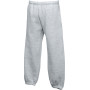 Kids classic elasticated cuff jog pants (64-051-0) heather grey 9/11
