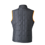 Ladies' Padded Light Weight Vest carbon/oranje