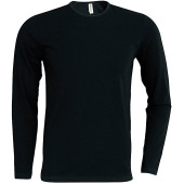 Helios - men's long sleeve crew neck t-shirt