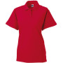 Ladies' classic cotton polo classic red xl