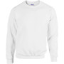 Heavy blend™ classic fit youth crewneck sweatshirt white 12/14 (xl)