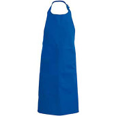 Apron - halterschort royal blue one size